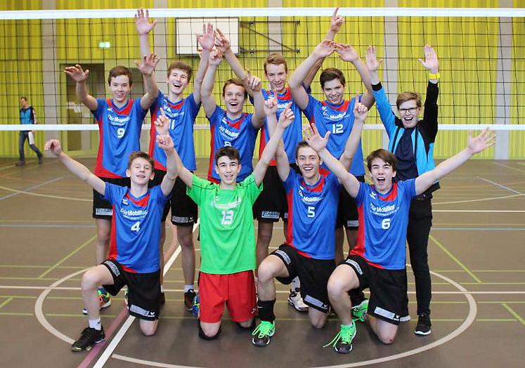Junioren U17 an der Schweizermeisterschaft
